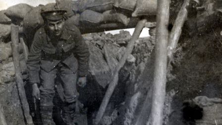 Islington Soldier Sgt Victor Hember in the Hebuterne Trench