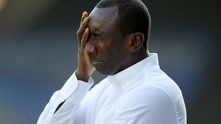Jimmy Floyd Hasselbaink lasted just 11 months in charge of Queens Park Rangers. (Pic: PA)