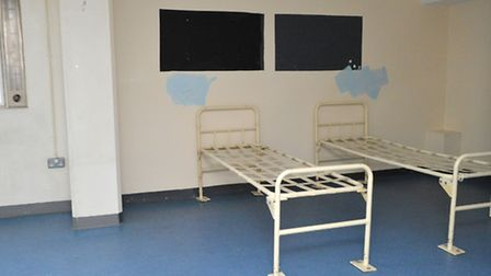 A former shared cell at Holloway Prison. Picture: Polly Hancock