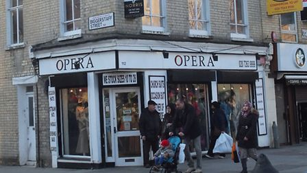 The exterior of Opera in Fonthill Road before its new shop front work. Picture: Islington Council