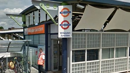 The attack was at Willesden Junction Station (pic: Google)