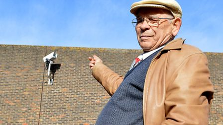 Mr Tempesta has questioned why the CCTV is not pointing towards Pentonville. Picture: Polly Hancock