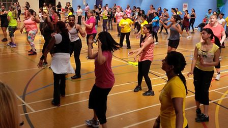 A Zumbathon will be taking place on January 14