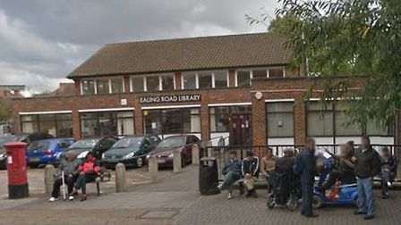 Ealing Road Library is to be transformed (Pic: Google)