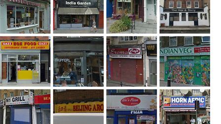 Restaurants in Islington that have been given a zero rating from the Food Standards Agency this year