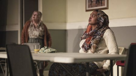 """The dress rehearsal of """"Love"""" directed and written by Alexander Zeldin at the Dorfman Theatre at the"""