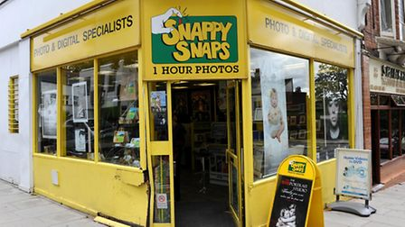 George Michael drove his Range Rover into Snappy Snaps Hampstead in 2010. Photo: Stefan Rousseau/PA