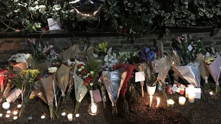 Popstar George Michael's sudden death has lead to an outpouring of grief with fans setting up a shri