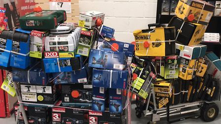Brent Police have recovered £6,000 worth of stolen goods (Pic: Twitter@MPSBrent)