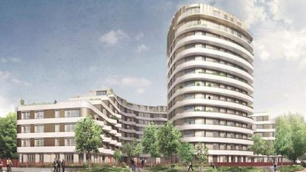Amex House will have new 195 homes