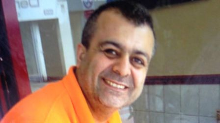 Huseyain Gulbudak was stabbed to death in his cafe