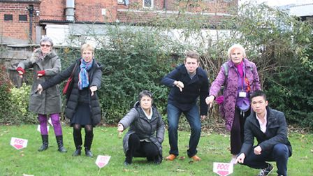 Councillors and campaigners on 'poo patrol' in Kensal Green