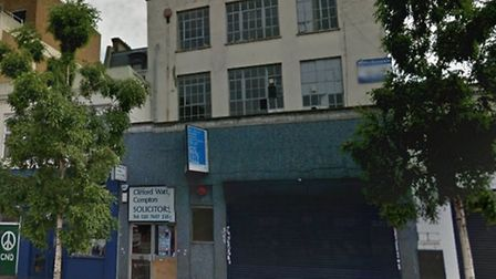 The shop front in Holloway Road that Jamie Oliver's media company wants to move into. Picture: Googl