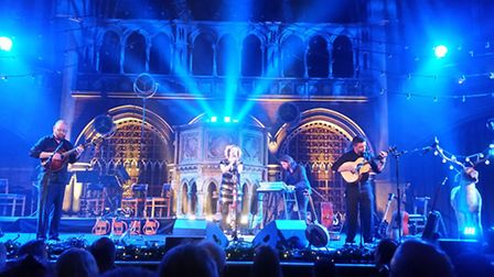Kate Rusby at the Union Chapel. Picture: Josiah Mortimer