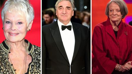 Dame Judi Denche, Jim Carter and Dame Maggie Smith are fundraising for the theatre (Pic: PA)