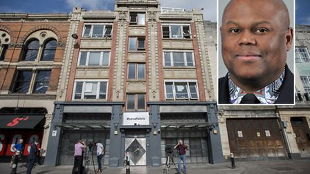 Cllr Raphael Andrews on Fabric: 'We have put ourselves on a slippery slope.' Pictures: PA/Islington