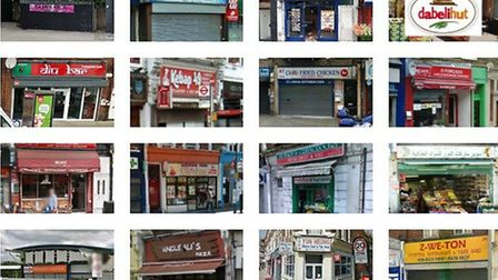 All 16 businesses in Brent have been given a hygiene rating of zero (Pic: Google)