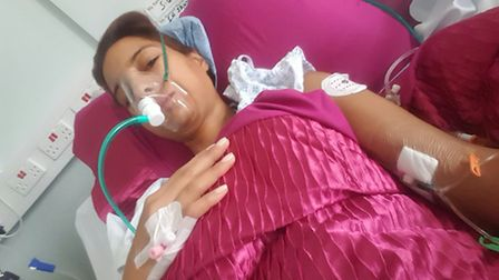 Nancy Fahmy nearly died from food poisoning