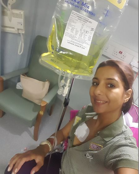 Nancy Fahmy will spend the rest of her life being fed through a tube