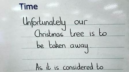 The noticeboard in Archway station yesterday morning. Picture: Russell Hrachovec