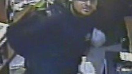 Police would like to speak to this man in connection with the break-in