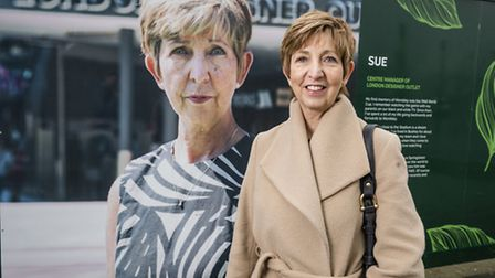 Sue is the centre manager of London Designer Outlet (Pic: Chris Winter / Wembley Park)