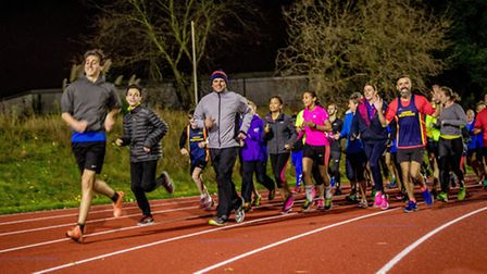Finsbury Park running track is back open for business. Picture: Tom Hosking