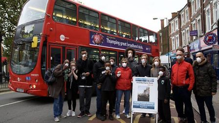 Residents in Kensal Rise have been campaigning for greener buses in the area (Pic: Adam Thomas)