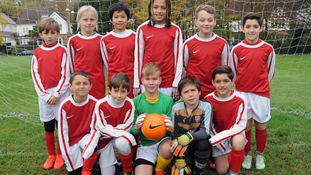 Islington U11s are through to the semi-finals of the Kay Trophy