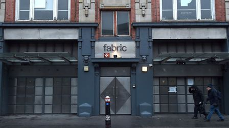 Fabric, in Charterhouse Street, pictured ahead of its re-opening today. Picture: Kirsty O'Connor/PA
