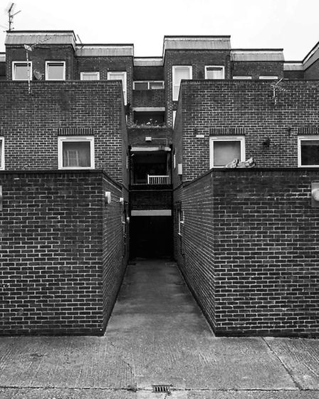 Elia Mews near Angel station. Picture: Simon Phipps / Extracted from Brutal London by Simon Phipps.
