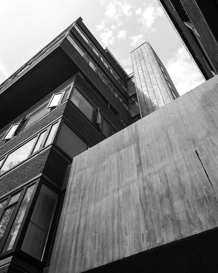 City University. Picture: Simon Phipps / Extracted from Brutal London by Simon Phipps.