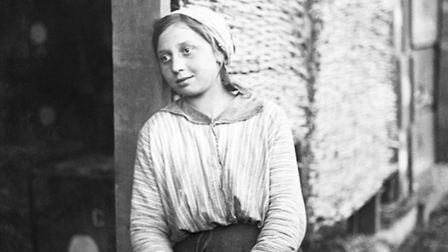 William Joseph Brunell, Young Italian Woman Employed by the British Army in Italy, November 1918. Co