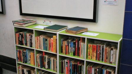 A new pop up library has been launched in Kilburn Station
