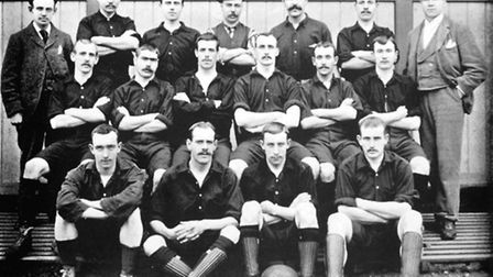 Woolwich Arsenal team photo in 1895. Picture: Empics Sport