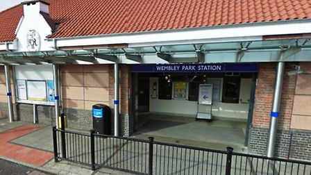 A workers is claimed to have been watching porn at Wembley Park Station (Pic credit: Google)