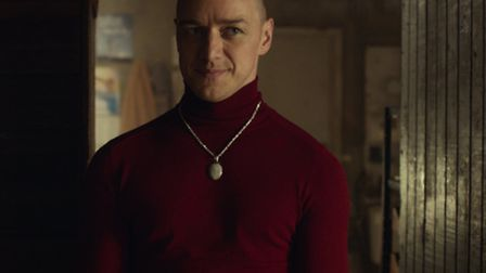 Split starring James McAvoy. Picture: Universal Pictures