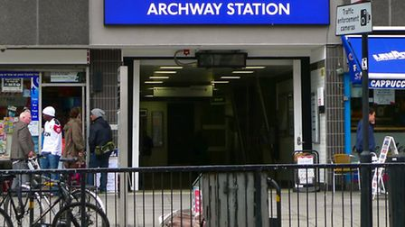 One objector said alcohol abuse 'has become worse' in the area around Archway station. Picture: Ewan