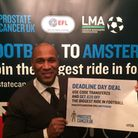 Les Ferdinand took part in a special Q & A last night in London to promote Prostate Cancer UKs Foot