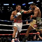 James DeGale (left) and Badou Jack were involved in a thrilling unification bout in New York on Satu