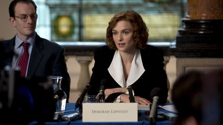 Rachel Weisz stars as the acclaimed writer and historian.Picture: Laurie Sparham / Bleecker Street