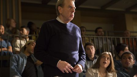 Timothy Spall stars as Holocaust denier David Irving in Denial.Picture: Laurie Sparham / Bleecker