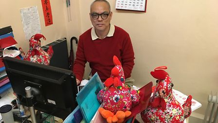 Dr Stephen Ng MBE, CEO of Islington Chinese Association. Picture: James Morris