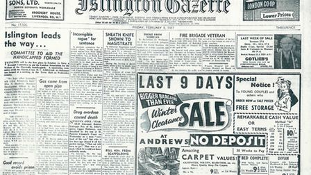 Islington Gazette: February 8, 1957