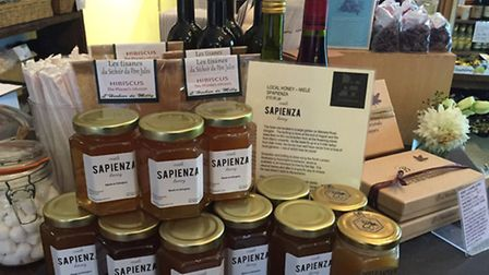 The honey is now on sale in La Fromagerie N5 in Highbury.