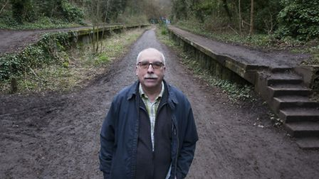 Author and transport historian Jim Blake called the abandoned Northern line a scandal in his 1993