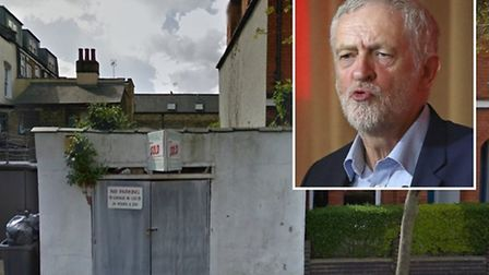 Islington North MP Jeremy Corbyn (inset) has objected to the development and basement excavation of