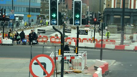 Work to overhaul the Archway gyratory and pedestrianise the town centre led to TfL's scheme for buse