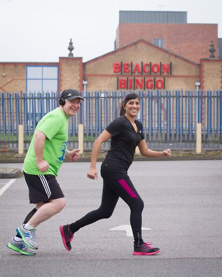 Norman and Asha Treacy are running a half marathon for CHIPs, which provides children with wheelchai
