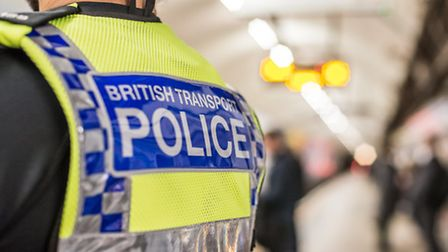 British Transport Police were called to the station this morning. Pic: BTP